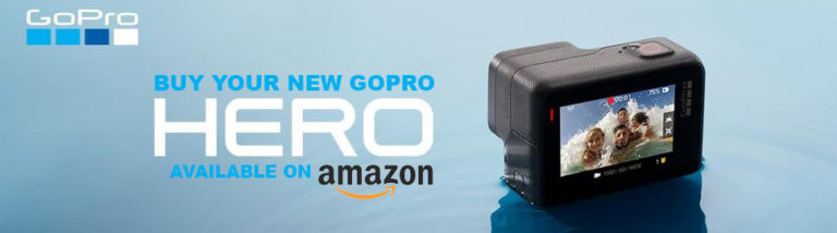Banner di acquisto GoPro HERO su Amazon